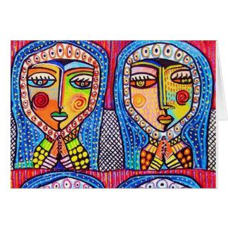 women by Sandra Silberzweig Card