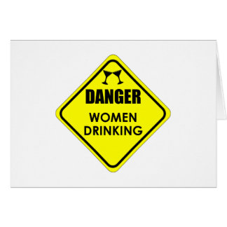 Women Drinking Card