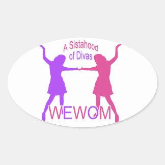Women Empowering Women of Michigan Oval Sticker