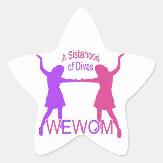 Women Empowering Women of Michigan Star Sticker