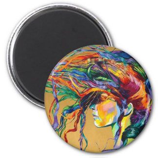 Women experience 2 inch round magnet