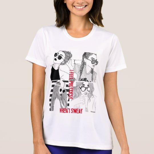 Women Feel Prettiest Sport-Tek Competitor T-Shirt