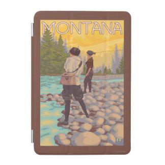 Women Fly Fishing - Montana iPad Mini Cover