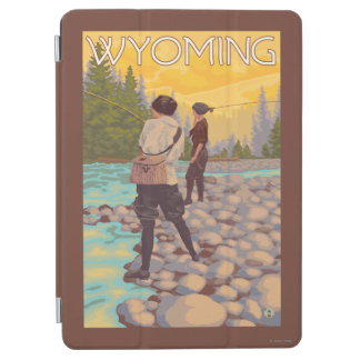 Women Fly Fishing - Wyoming iPad Air Cover