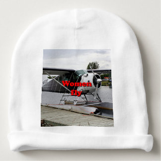 Women fly: float plane 1, Alaska Baby Beanie