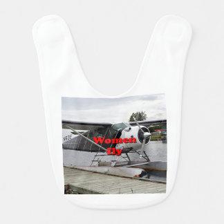 Women fly: float plane 1, Alaska Bib