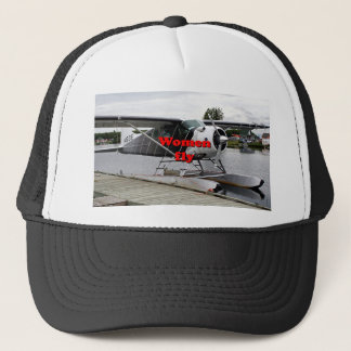 Women fly: float plane 1, Alaska Trucker Hat