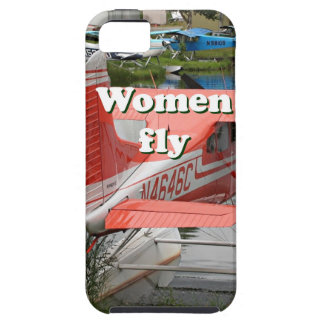 Women fly: float plane 23, Alaska iPhone 5 Case