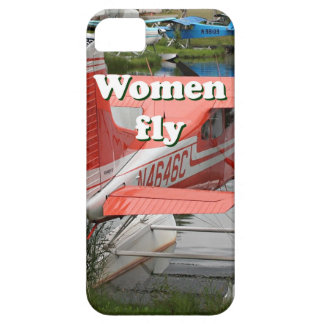Women fly: float plane 23, Alaska iPhone 5 Cases
