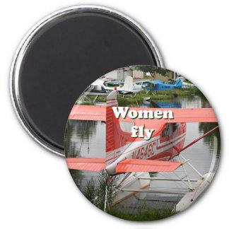 Women fly: float plane 23, Alaska Magnet