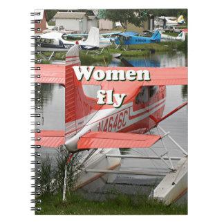 Women fly: float plane 23, Alaska Notebooks