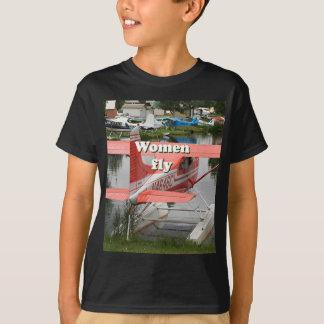 Women fly: float plane 23, Alaska T-Shirt
