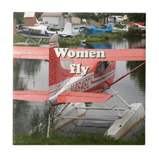 Women fly: float plane 23, Alaska Tile