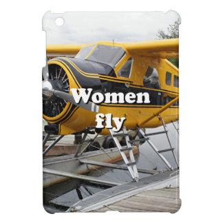 Women fly: float plane, Lake Hood, Alaska Cover For The iPad Mini