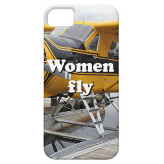 Women fly: float plane, Lake Hood, Alaska iPhone 5 Case