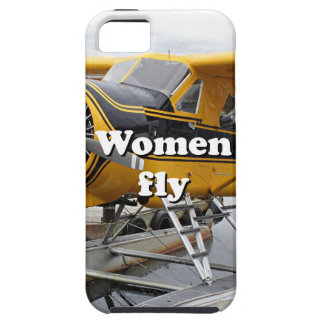Women fly: float plane, Lake Hood, Alaska iPhone 5 Cover