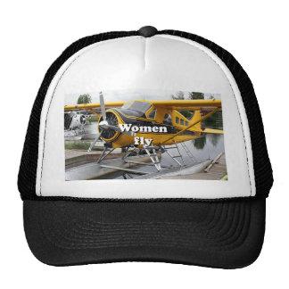 Women fly: float plane, Lake Hood, Alaska Trucker Hat