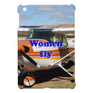 Women fly: high wing aircraft cover for the iPad mini