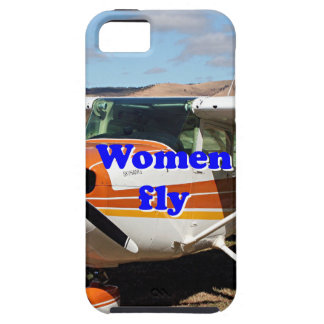 Women fly: high wing aircraft iPhone 5 cover