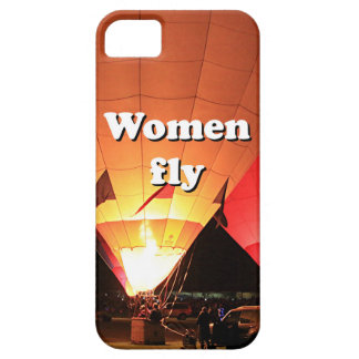 Women fly: hot air balloon 2 iPhone 5 case