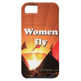 Women fly: hot air balloon 2 iPhone 5 cover