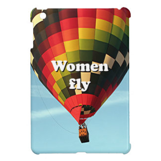 Women fly: hot air balloon iPad mini case
