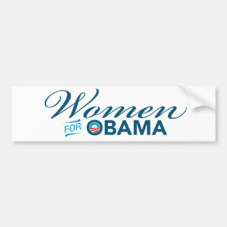 Women For Barack Obama Bumper Sticker