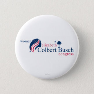 Women for Elizabeth Colbert Busch 2 Inch Round Button