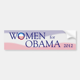 Women for Obama 2012 Bumper Sticker