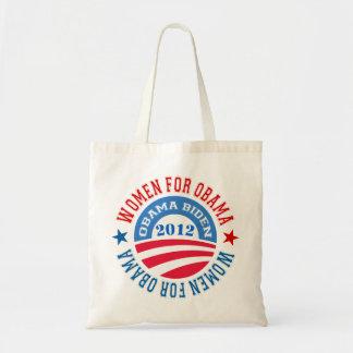 Women For Obama-Obama Biden 2012 Budget Tote Bag