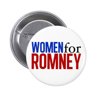 Women for Romney 2 Inch Round Button
