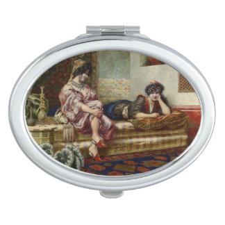 Women Friends in a Harem Travel Mirrors