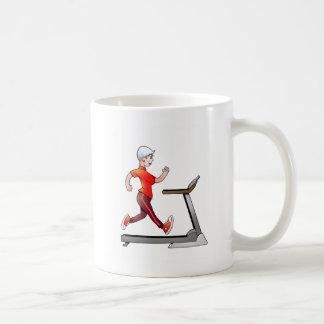 Women Geezers Go For It Treadmill Mug
