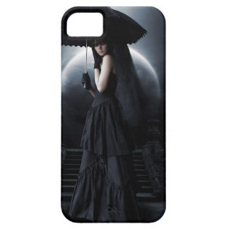 Women gothic moon iPhone 5 case