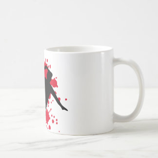 women handball coffee mug