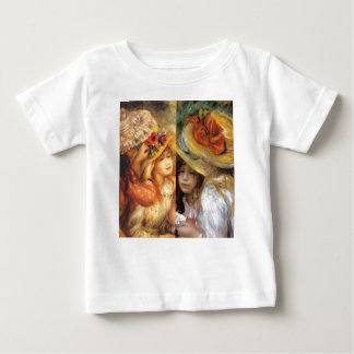 Women headwear are masterpieces in Renoir's art Baby T-Shirt