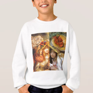 Women headwear are masterpieces in Renoir's art Sweatshirt