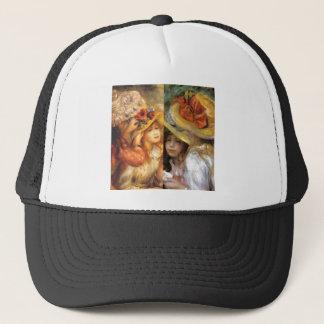 Women headwear are masterpieces in Renoir's art Trucker Hat