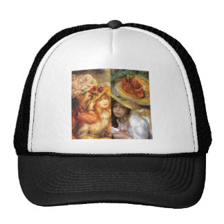 Women headwear are masterpieces in Renoir's art Trucker Hat