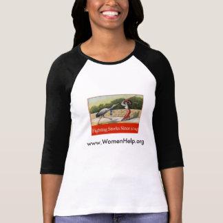 Women Help Women - Fighting Storks Since 2014 T-Shirt