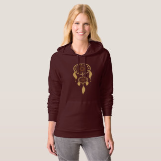 Women Hooded Dreamcatcher Sweater
