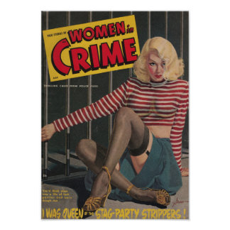 Women in Crime Poster