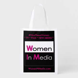 Women In Media EZ fold shopping bag - Black