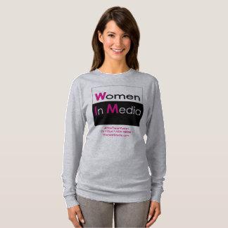 Women In Media Long Sleeve Tee Shirt