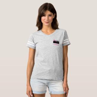 Women In Media Sporty Tee Shirt Grey