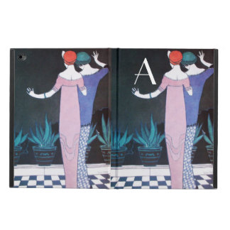 WOMEN IN NIGHT Art Deco Beauty Fashion Monogram Powis iPad Air 2 Case