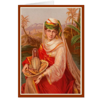 Women In The Bible - Abigail Card