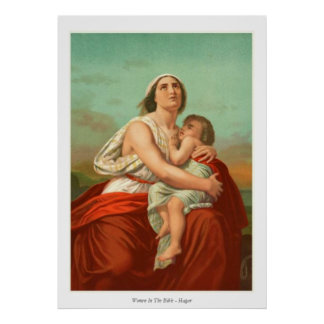 Women In The Bible - Hagar Poster