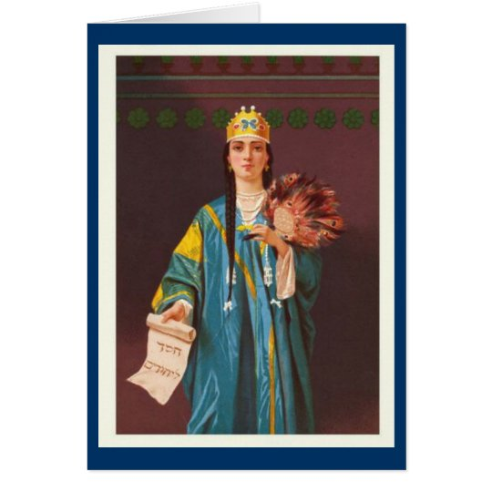 Women In The Bible -  Queen Esther Card