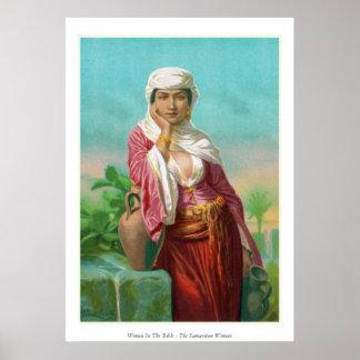 Women In The Bible - The Samaritan Woman Poster